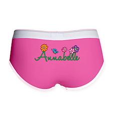 Annabelle Flowers Women's Boy Brief