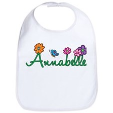 Annabelle Flowers Bib