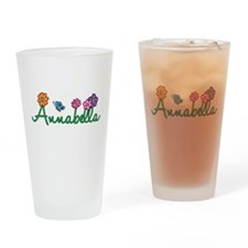 Annabella Flowers Drinking Glass