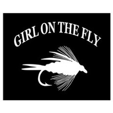 GIRL ON THE FLY Poster