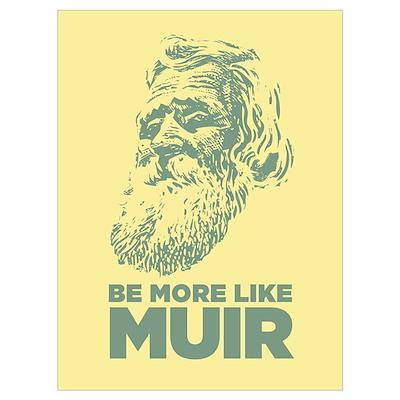 Framed John Muir Wall Art Poster