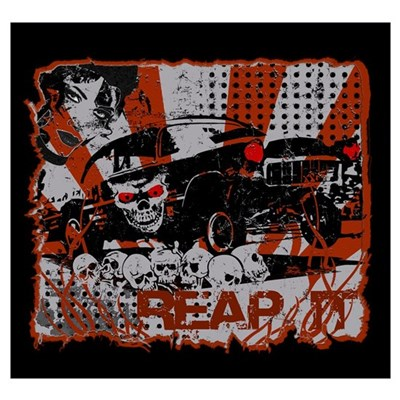 Reap It 55 Chevy Canvas Art