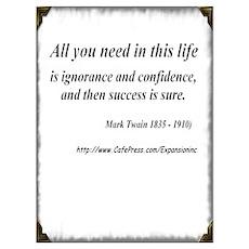 (Success - Twain - A) Poster