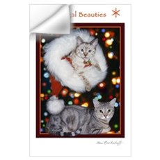 Bengal Beauties Holiday ~ Wall Decal