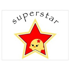 Super Star Framed Print
