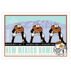 New Mexico Bowl 2007 Canvas Art