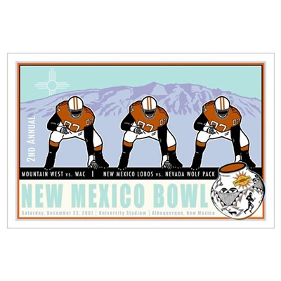 New Mexico Bowl 2007 Poster