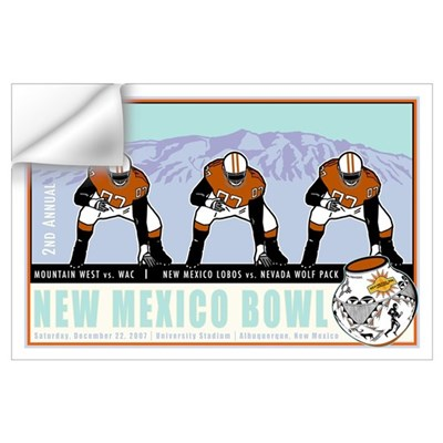 New Mexico Bowl 2007 Wall Decal