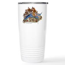 Opalescent Nudibranch Travel Coffee Mug