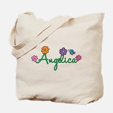 Angelica Flowers Tote Bag