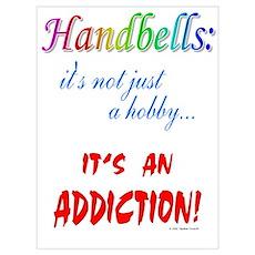 Handbell Addiction Poster