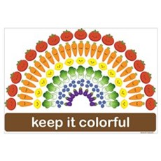 Keep It Colorful Canvas Art