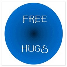 Free Hugs 2 Canvas Art