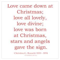 Christina G. Rossetti 1 Poster