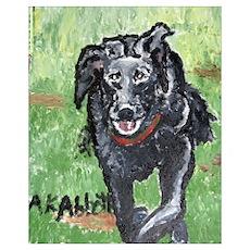 Small Dog : Art by Anne K Abbott Poster