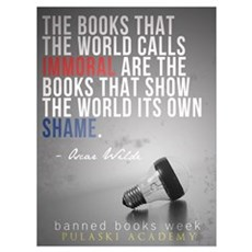 Banned Books Framed Print