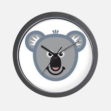 Cute Koala Wall Clock