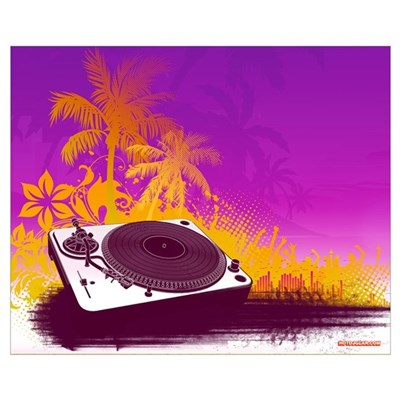 Turntable Paradise Poster