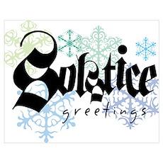 Solstice Greetings Poster