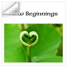 New Beginnings, Wall Decal