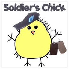 Soldier's Chick Poster