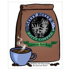 Caffeinated Kitty Blend Poster
