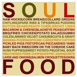Soul food Wrapped Canvas Art
