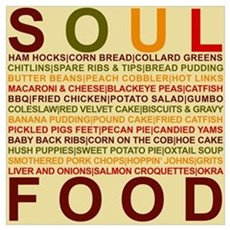 Soul Food Canvas Art