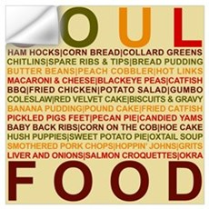 Soul Food Wall Decal