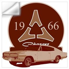 66 Charger Wall Decal
