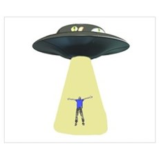 UFO Out of this world Poster