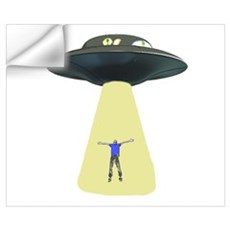 UFO Out of this world Wall Decal