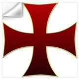 Knights templar Wall Decals
