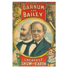 The Barnum & Bailey Greatest Show on Earth Poster