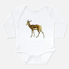 Springbok Antelope Long Sleeve Infant Bodysuit