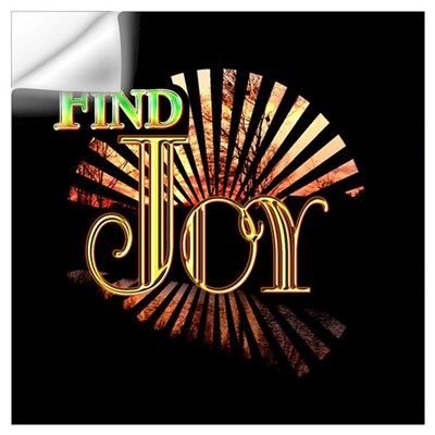 Find Joy sunset Wall Decal