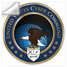 United States Cyber Command Wall Decal