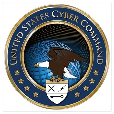 United States Cyber Command Framed Print