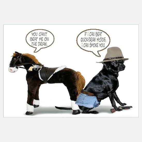 Black Lab Cowboy