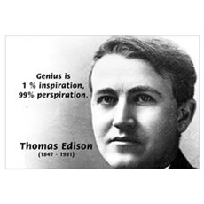 Thomas Edison: Genius Framed Print
