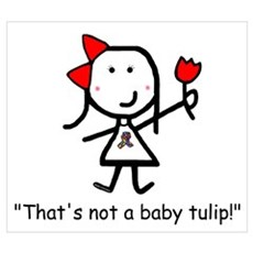 Autism - Not a Tulip Poster