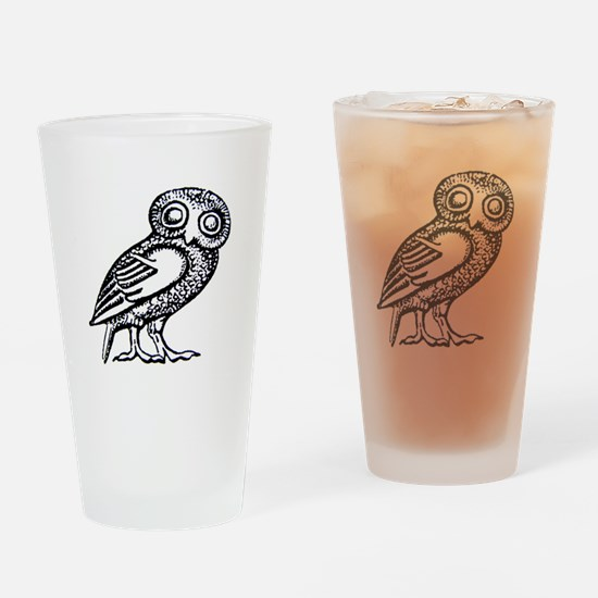 Cute Athena Drinking Glass
