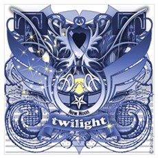 Twilight Royal Media Cobalt Poster