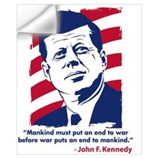 JFK Quotation Wall Decal