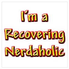 Recovering Nerdaholic Framed Print