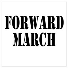 The Official Forward March Poster