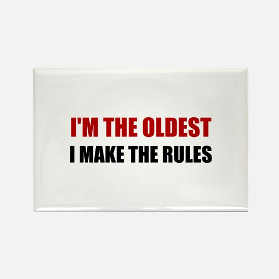 Oldest Make The Rules Magnets