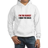 Funny oldest sister Light Hoodies