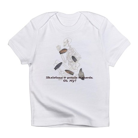 Skeletons, Points, & Sherds Infant T-Shirt