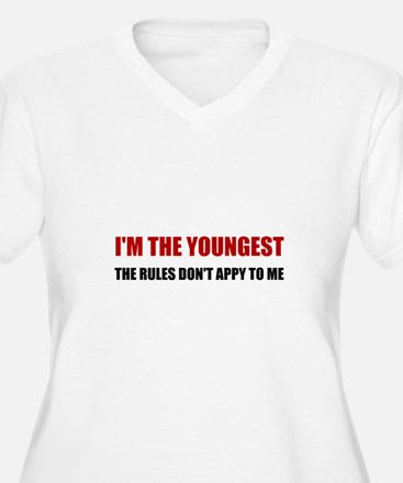 Youngest Rules Don't Apply Plus Size T-Shirt